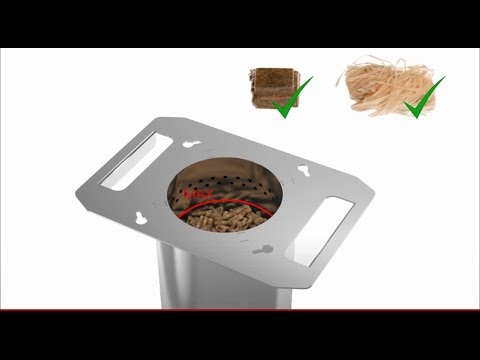 Pyrogrill barbecue pellets doovi for Bruciatore a pirolisi