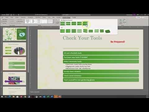 PPT Module 2 SAM Project B:  Spring Gardening Tips