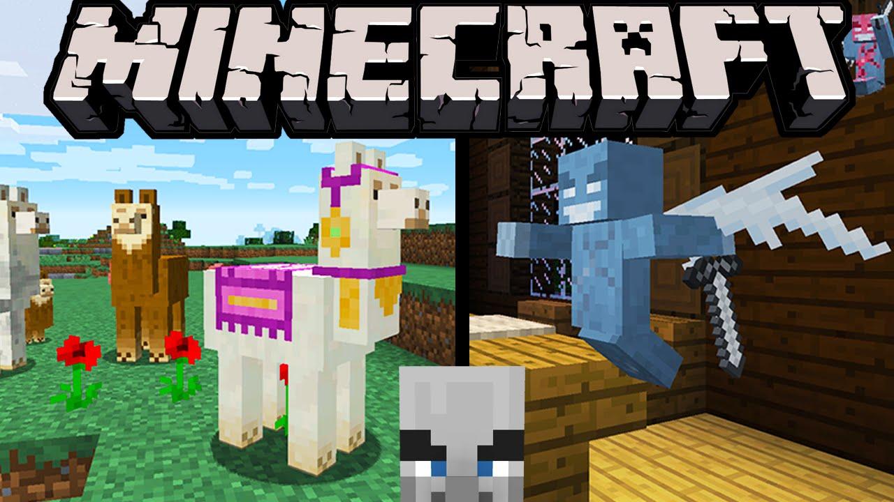 Minecraft 1 11 Exploration Update Llamas Spit Evil