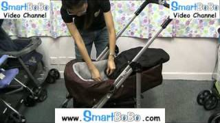 SmartBoBo.com H102 美國Zooper高級尊貴可變睡籃雙向型BB車 installation