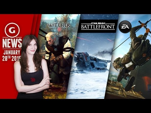 Star Wars: Battlefront Release Teased & Witcher 3 Resolution Revealed! - GS Daily News