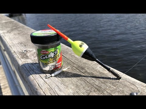 How To Catch Crappies With Gulp Alive Minnow