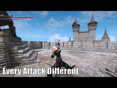 Skyrim Mods: Every Attack Different (Katana Animation)