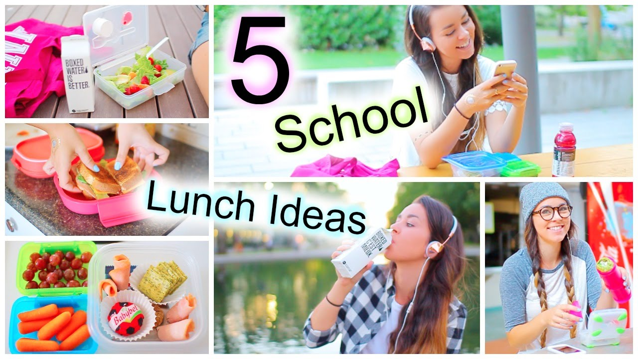 5 healthy back to school lunch ideas youtube forumfinder Choice Image