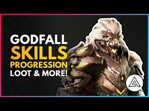 GODFALL   Skill Unlocks, Progression, Abilities, Loot & More!