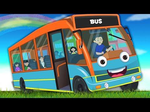 Kids Channel Indonesia | roda di bus | bis berima | Lagu Anak | Wheels On The Bus | Song For Kids