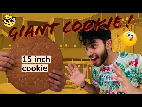i-made-the-best-giant-chocolate-chip-cookie- -பெரிய-சாக்லேட்-சிப்-குக்கீ- -homemade-in-oven