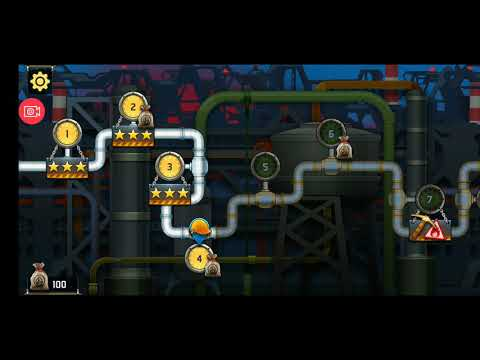 Plumber 3 puzzle game level 1 to 5 gameplay