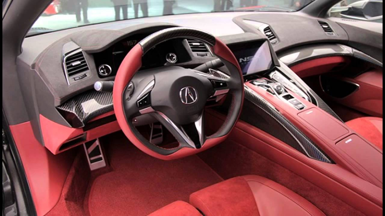 Perfect 2015 Acura NSX Exterior And Interior Gallery