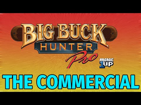 Big Buck Hunter Pro Arcade 1UP Commercial by Big Buck Charlie from Lord Gamerson