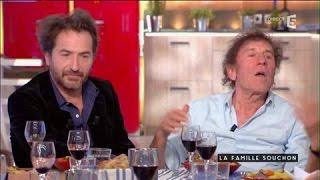 Edouard Baer rencontre les Souchon - C à vous - 05/01/2017