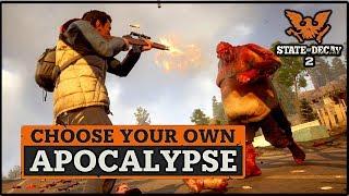 DLC SHOWCASE!! STATE OF DECAY 2 (CHOOSE YOUR OWN APOCALYPSE) PLAGUE JUGGERNAUTS & MORE!! NEW DLC