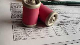 Featured product - high voltage spark gaps sales@dmphotonics.com