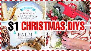 7 Cheap (NOT CHEESY) Dollar Store Christmas DIY Decorations 2020