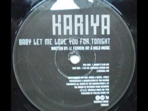 SPEED GARAGE - KARIYA -  BABY LET ME LOVE YOU FOR TONIGHT - (Sol Brothers Anthem Mix)