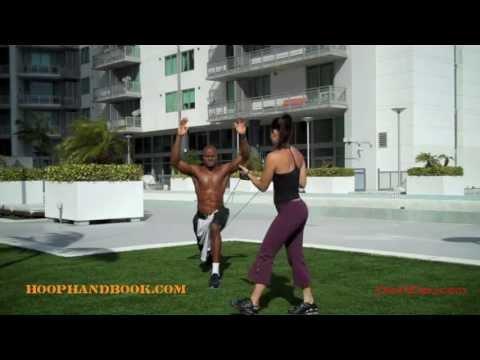 Lunging Knee Stabilization & Strength Drill | Dre Baldwin