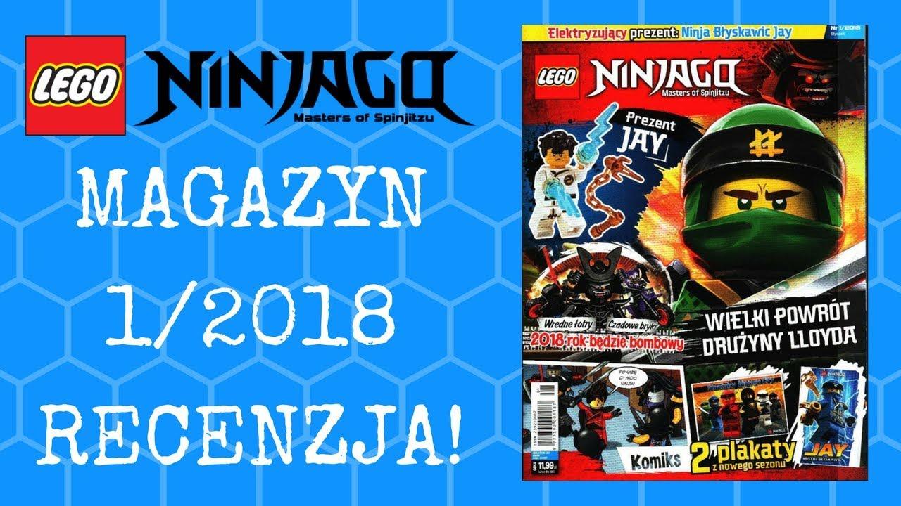 Magazyn Lego Ninjago 012018 Recenzja Youtube