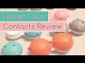 Honey Color Contacts Review