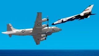 Chinese Jet Barely Doesn't Hit US Spy Plane | China Uncensored