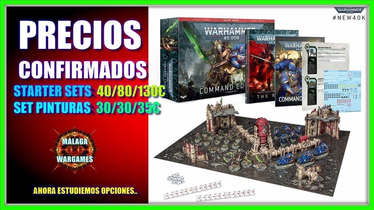 PRECIOS CONFIRMADOS - Novedades Warhammer 40k 9º Edición