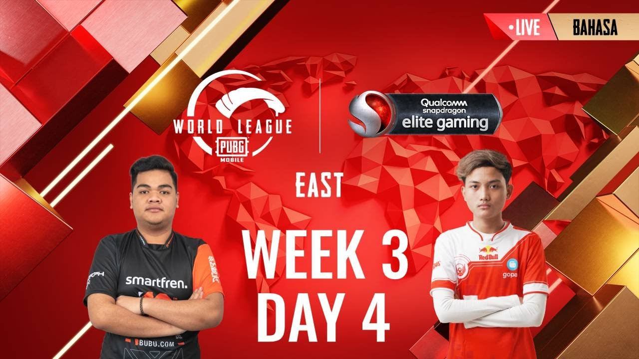 [BAHASA] W3D4 - PMWL EAST - Super Weekend | PUBG MOBILE World League Season Zero (2020)