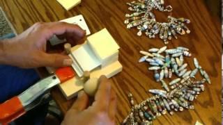 V3 Paper Bead Roller Rolling Machine