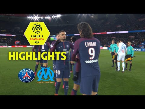Paris Saint-Germain - Olympique de Marseille (3-0) - Highlights - (PARIS - OM) / 2017-18