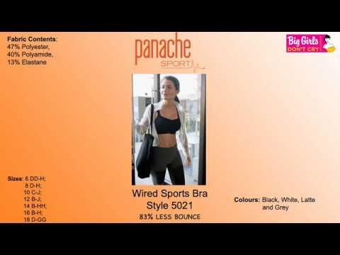 PANACHE SPORT - 5021 - Underwired Sports Bra - Big Girls Don't Cry