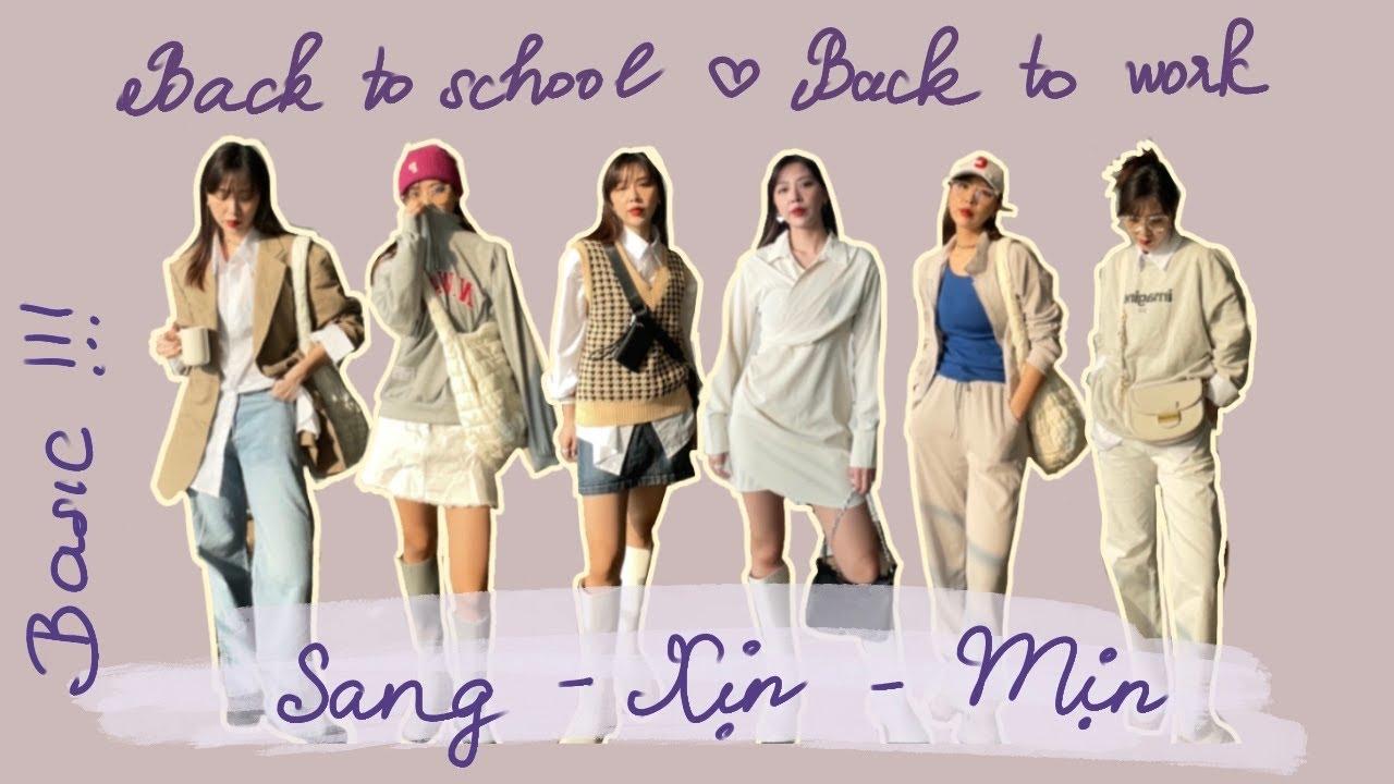 【haul shopee/lazada/taobao/2hand】casual outfits đi làm,đi học SANG XỊN MỊN /phối đồ nhiều phong cách