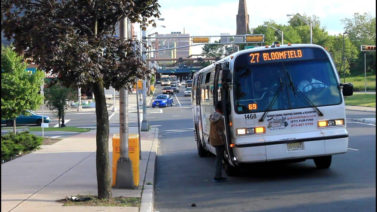 Nj Transit Bus Route 13b 13b 27 29 72 At Clay
