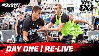 RE-LIVE - FIBA 3x3 World Tour 2018 - Lausanne Masters 2018 | Day One - presented by VTX