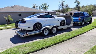 Bradenton NMRA Drag Race Prep on Ashley's Whipple S550