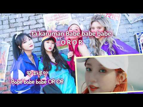 EXID (이엑스아이디) - LADY (내일해) (Karaoke/Instrumental)