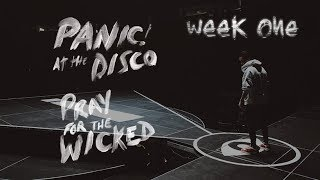 Panic! At The Disco - Pray For The Wicked Tour (Week 1 Recap)