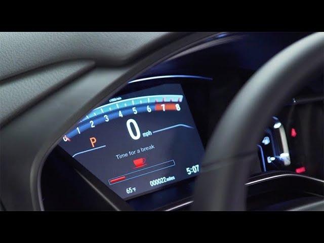 2018 Honda CR-V Tips & Tricks: How to Use the Driver Alertness Monitor