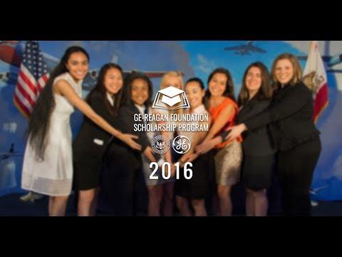 2016 GE-Reagan Foundation Scholarship Program