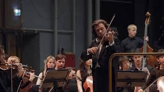 M. Ravel Tzigane ANDREY BARANOV (violin). CONDUCTOR - PAVEL GERSHTEIN