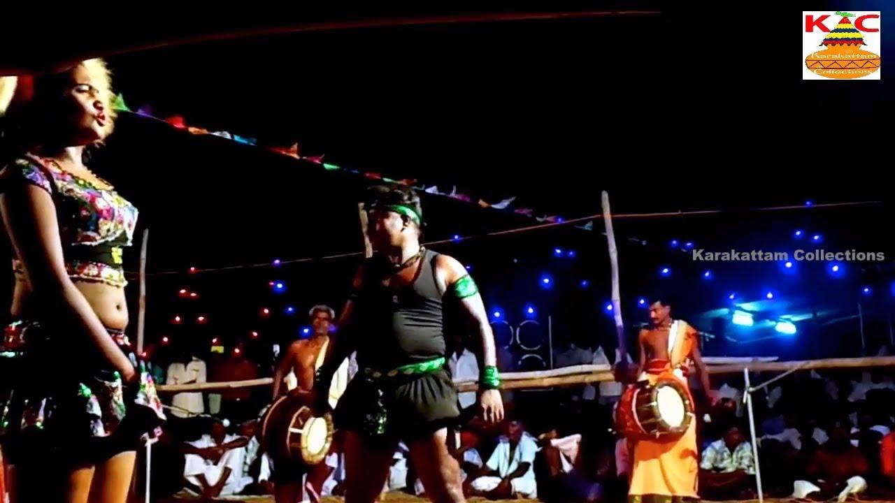 Nithya Midnight Karakattam Dance In Tamil Nadu 2017 Full -6145