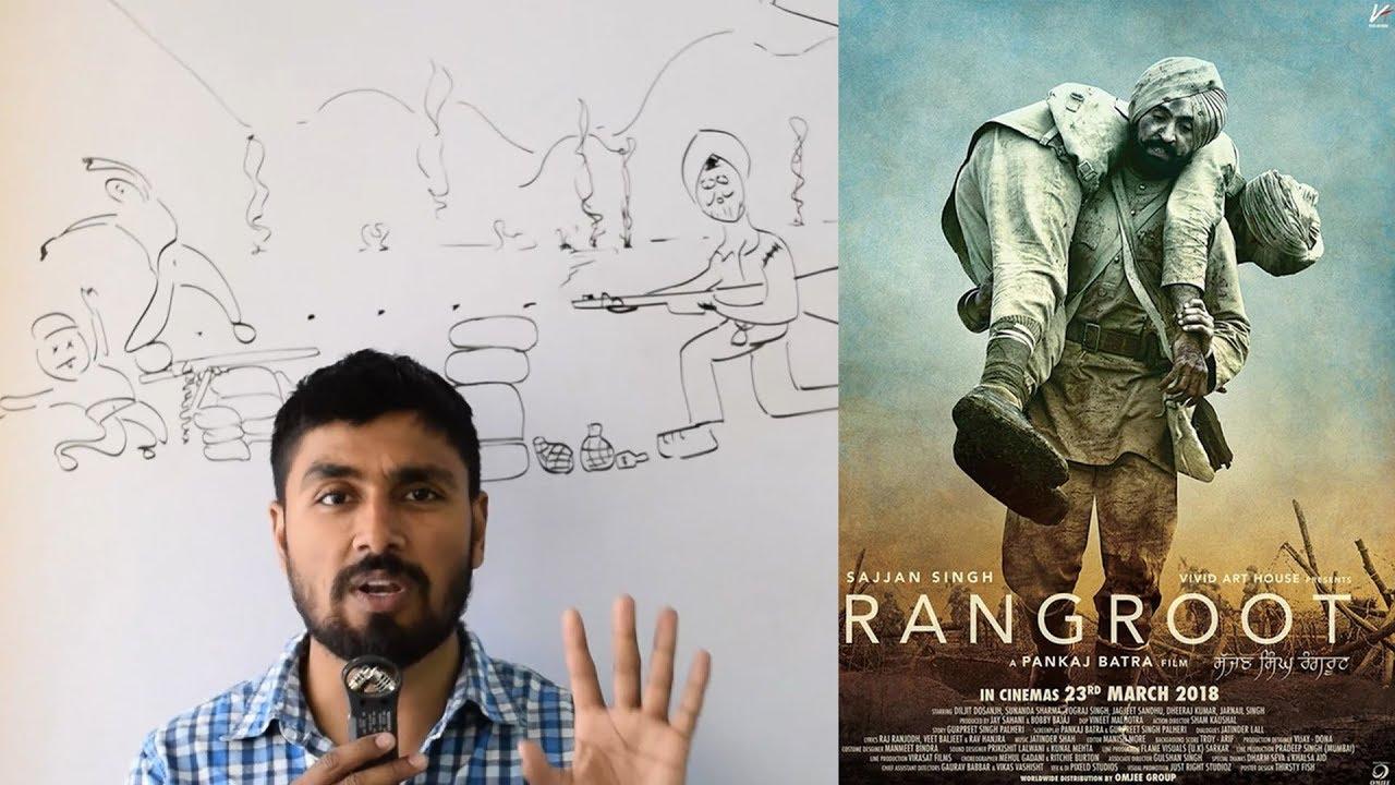 Download Sajjan Singh Rangroot 2018 Movie Review Punjabi