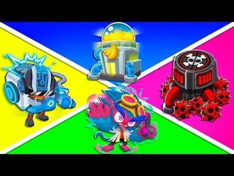 Bloons TD 6 - 4-Player Jobs Towers ONLY Challenge | JeromeASF