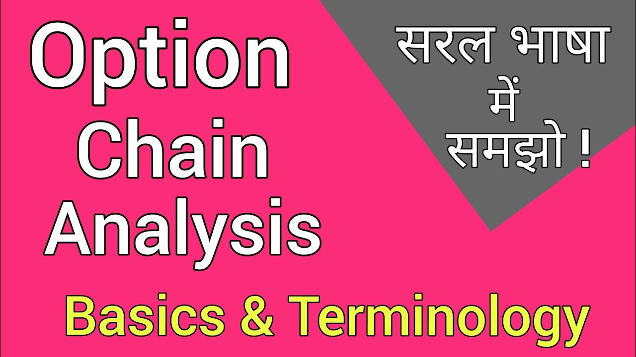 Option chain analysis for swing trading