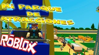 I CLIMB IN MY ATTRACTIONS! THEME PARK TYCOON 2 - ROBLOX @DannyVII_YT