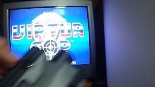 Virtua Cop Limited Edition Virtua Gun Set Sega Saturn