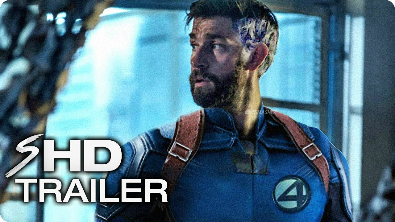 Marvel's FANTASTIC FOUR - Teaser Trailer Concept #1 [HD] MCU John Krasinski, Emily Blunt Movie