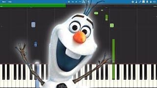 Download lagu When I Am Older - EASY Piano Tutorial - Frozen 2 - Josh Gad