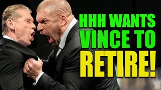 How Triple H Has Secretly Shown He Wants Vince McMahon To Retire NOW and Takeover WWE!