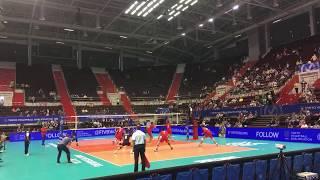 Волейбол. Матч Иран  vs   Куба