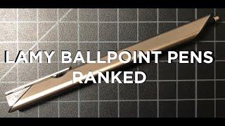 Gambar cover 9 Lamy Ballpoint Pens Reviewed