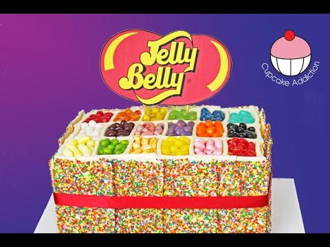 JELLY BELLY CAKE & BEAN BOOZLED Challenge With JAMIE'S