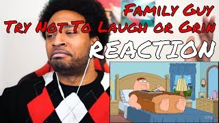 Family Guy Try Not To Laugh or Grin Challenge! #5 REACTION | DaVinci REACTS